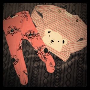 NWOT! Jessica Simpson baby girl outfit